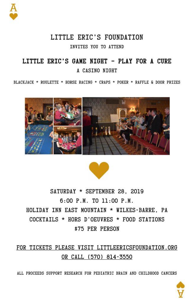Casino Night Flyer 2019